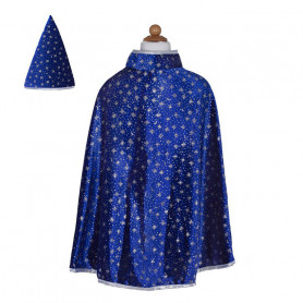Glittery Wizard Cloak with Hat - Child Costume