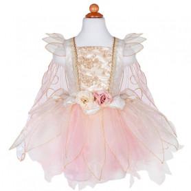 Robe de fée rose dorée - déguisement fille