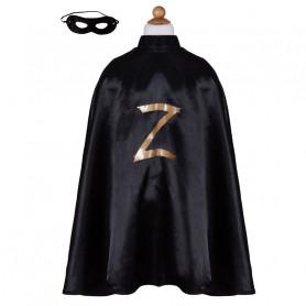 Cape Zorro avec masque - déguisement enfant