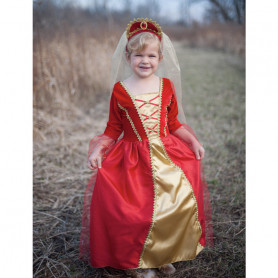 Red Royal Dress - Girl Costume