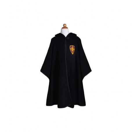 Magicien noir avec manteau et lunettes - Déguisement enfant