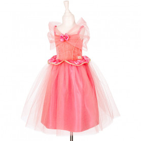 Robe rose Olivia - déguisement fille