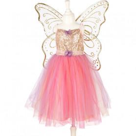 Robe Nora avec des ailes - déguisement fille