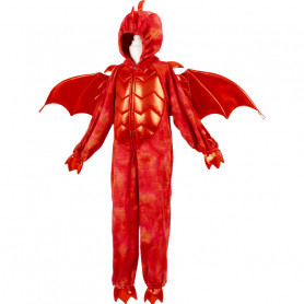 Red dragon jumpsuit - child costume