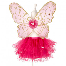 Fairy Skirt and Fairy Wings Babette 3-5 years - Girl disguise