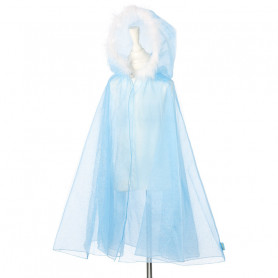 Ice Queen Blue Cape - Girl's Costume