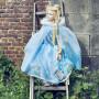 Ice Queen Blue Cape - Girl's Costume