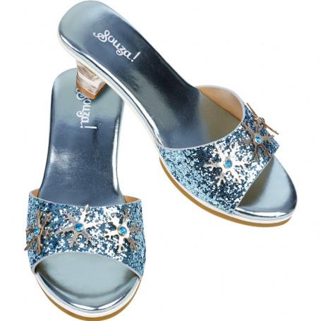 Chaussures Ice queen - accessoire déguisement fille