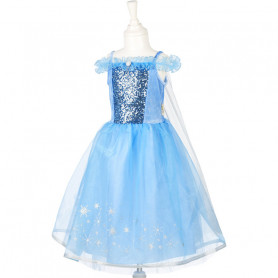 Ice Queen Blue Dress - Girl's Costume