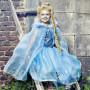 Robe bleue Ice queen - déguisement fille