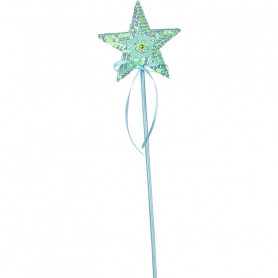 Magic wand Isabelle - mint star - accessory disguise child