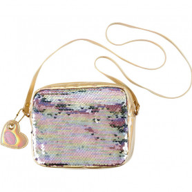 harlène Golden Bag - Girl Accessory