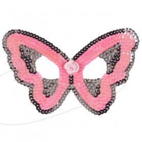 Pink Mask Butterfly - Child Costume Accessory