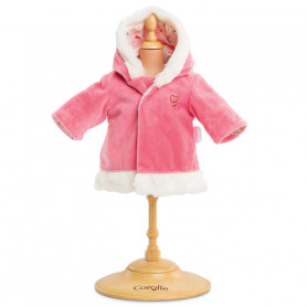 Coat - enchanted winter for 30 cm baby doll - Mon grand poupon Corolle 36 cm