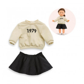 Sweater & skirt 1979 for doll ma Corolle