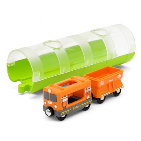 Train Cargo et tunnel