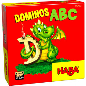 Letter Dominoes - mini haba game