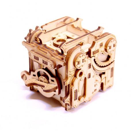 Minipunk Puzzle - Piggy Bank/Gearbox to Assemble