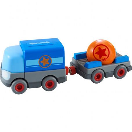 Camion à pile avec remorque - Véhicule pour circuit Kullerbü