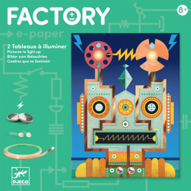 Factory E-Paper kit Cyborgs - Pictures to light up