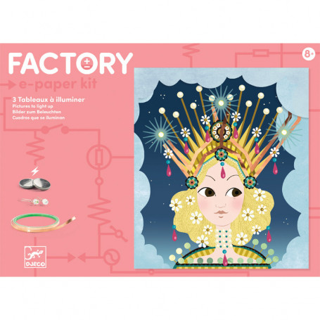 Factory E-Paper kit Tiaras - Pictures to light up