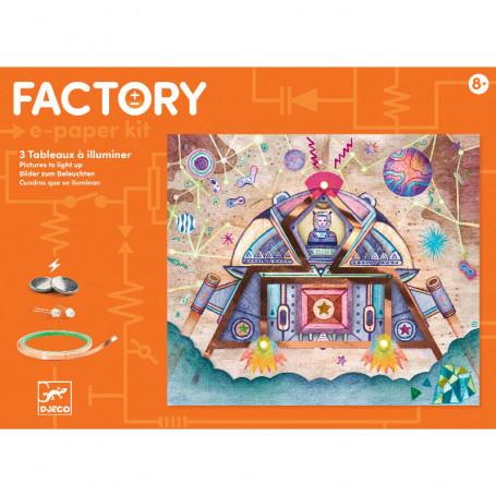 Factory E-Paper kit Odyssée - Tableaux à illuminer