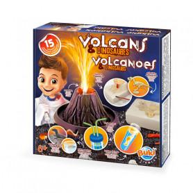 Kit expériences Volcans & Dinosaures