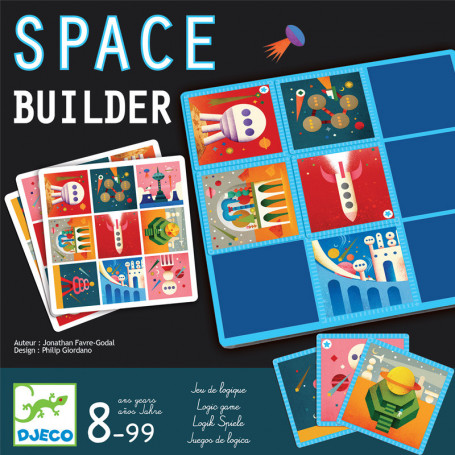 Space builder Jeu de logique