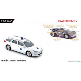 CITROËN C5 Tourer Ambulance - Norev Emergency