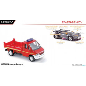 CITROËN Jumper Pompier - Norev Emergency