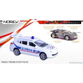 RENAULT Mégane Estate Police - Norev Emergency