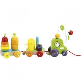 Tracteur multi-activités - Jour de récolte