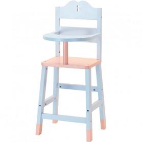 Chaise haute pour poupée jusqu'à 40 cm