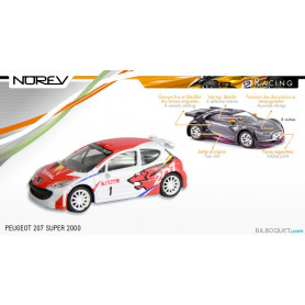 PEUGEOT 207 Super 2000 - Norev Racing