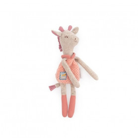 Doudou hochet girafe - Sous mon baobab - Moulin Roty