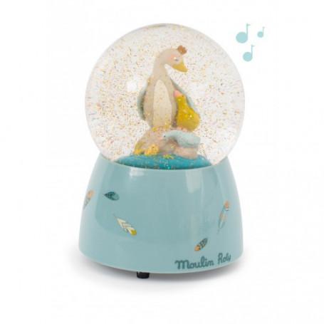 Boule à Neige Musicale - Le Voyage d'Olga - Moulin Roty