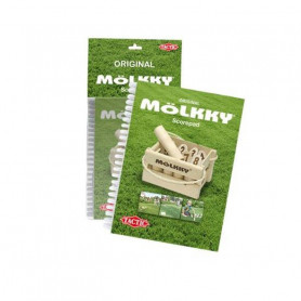 Molkky - Carnet de score