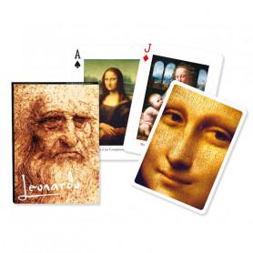 Jeu de cartes Collectors' Leonard de Vinci
