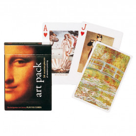 Jeu de cartes Collectors' Art Pack