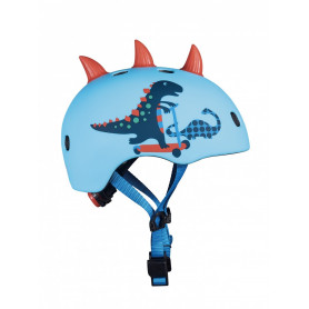 Helmet with LED Scootersaurus 3D