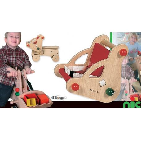 nic CombiCar - guidon porte-poupée