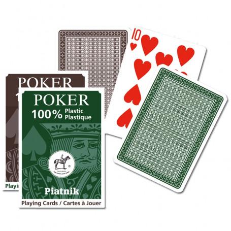 Jeu de cartes 54 cartes 100% plastique