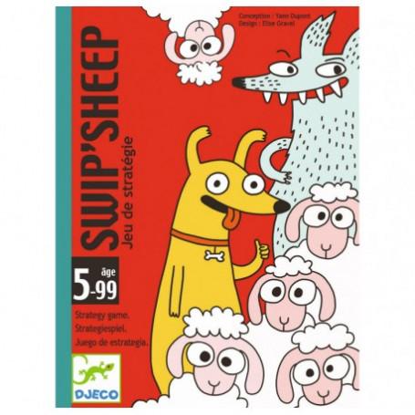 Jeu de carte Swip'Sheep - Djeco