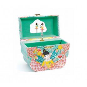 Boîte à bijoux mélodie fleurie - Djeco