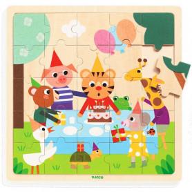 Puzzle en bois Puzzlo Happy - Djeco