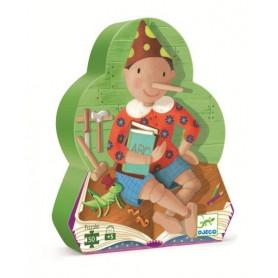 Puzzle silhouette Pinocchio - Djeco