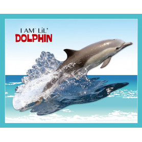 Dolphin Shaped Jigsaw Puzzle - 100 pièces