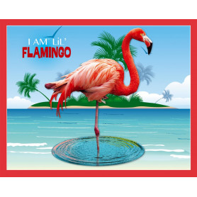 Flamingo Shaped Jigsaw Puzzle - 100 pièces