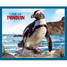 penguin Shaped Jigsaw Puzzle  - 100 pièces