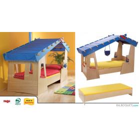 Lit-cabane La case de Tom